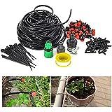 JOYOOO 25m Micro Drip Irrigation System Planta Auto Riego de jardín