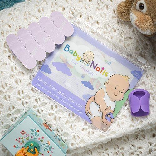 Lima de uñas para recien nacidos (0 meses +) I Cuidado de uñas bebé I Accesorio para recien nacidos y bebés I Regalo para mamás   3 x 5