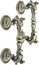 Casa Decor Dragon Fire Antique Decorative Cast Iron Door Handles | Interior or Exterior Barndoor, Gates, Shed, Cabinet | Set of 2