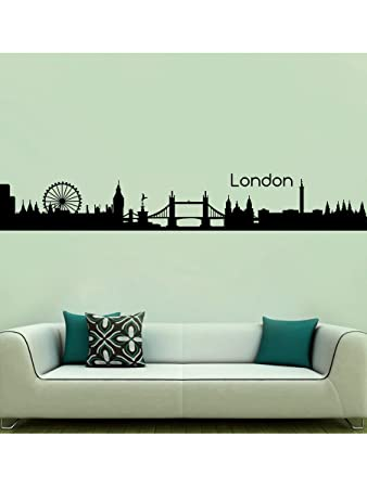 Buy City Of London Wall Sticker Decal Online At Low Prices In - Wall decals online india