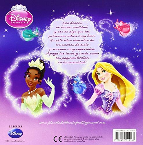 61d2opyRNFL - Princesas. Pide un deseo: ¡Con más de 30 adhesivos que brillan en la oscuridad! (Disney. Princesas)