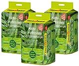 Floragard Aktiv-Grünpflanzen- und Palmenerde 3x20 L ? Spezialerde für Palmen, Farne, Ficus, andere Grün- und Zimmerpflanzen ? mit 3-Monate-Langzeitdünger ? zum Topfen und Umtopfen ? 60 L -