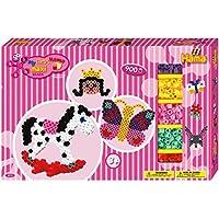 Hama 8713 - Loisirs Créatifs - Boîte Cadeau Géante Perles à Repasser - Taille Maxi - Cheval À Bascule