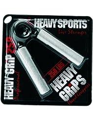 Heavy Grips 200 Advanced - Pinzas de entrenamiento de mano de fitness y ejercicio para hombre, 200lbs