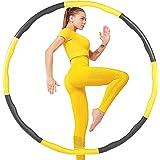 VAGAV Fitness Oefening Gewogen Hula Hoop, Verlies Gewicht Snel door Leuke Manier om Workout, Vet Brandend Gezond Model, Afnee