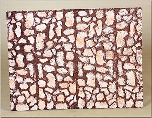 Rossi rosa pannello sughero, multicolore, 33 x 25 x 1 cm