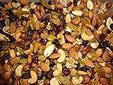Mélange de fruits secs Extra, Amandes,noisettes,noix de cajou, noix du brésil,noix de pécan, cerneaux de noix, raisins secs, baies de cranberries