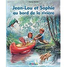 Jean Lou et Sophie au bord de la rivière