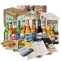 Cette boîte cadeau contient 12 bières du monde, en bouteilles de 33 Cl, ainsi que des informations sur ces bières et des instructions de dégustation. Spécialités de bières du monde entier. Livrées dans un carton spécial en toute sécurité. Ce pack de ...