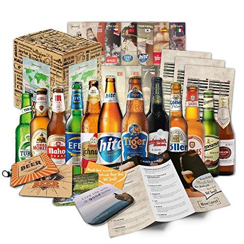 12 Birre di mondo il mondo le migliori birre del mondo dare con scatolaregalo (nessuna birra a buon mercato)