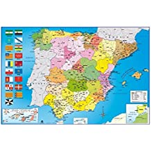 Grupo Erik Editores Mapa España Politico Hfe - Poster, 61 x 91.5 cm