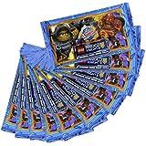 Sammelkarten LEGO NEXO Knights Trading Cards - 10 Booster - 50 Karten