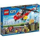 LEGO - 60108 - L'Unité de Secours des Pompiers