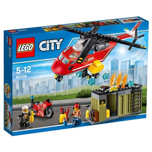 Lego - 60108 - City Fire - Unità di risposta antincendio