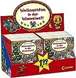 Buch Display Weihnachten in der Wimmelwelt Pappe 100x110mm 16 Seiten Farbig illustriert ab 2 Jahren