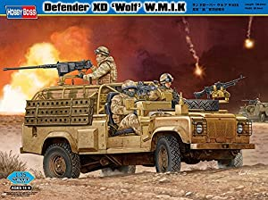 Hobby Boss 82446 Land Rover Wolf WMIK - Jeep Militar en Miniatura (Escala 1:35)