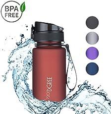 """720°DGREE Trinkflasche Kinder """"uberBottle"""" - 350ml   Wasserflasche Auslaufsicher   Sportflasche BPA-Frei   Schule, Sport, Wasser"""