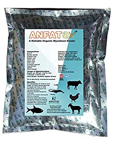 Anfotal Nutrition Aquaculture Feed Toxin Binder - 1Kg
