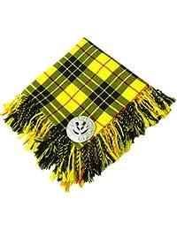 Tartanista Fly plaid pour kilt - broche motif chardon - 5 tartans disponibles