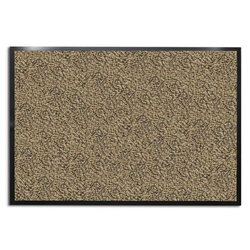 floordirekt-everest-felpudo-polipropileno-ocker-schwarz-60-x-90-cm