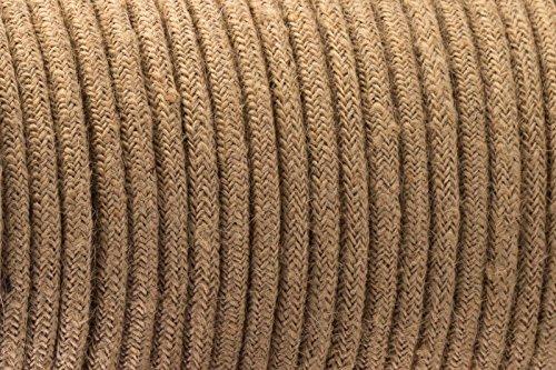 3-core-intrecciato-colore-marrone-vintage-rotonda-in-seta-tessuto-lampada-cavo-flessibile-cavo