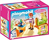 Playmobil 5304 Dollhouse Baby Room With Cradle
