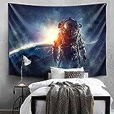 xkjymx Fondo paño Colgar paño Bar habitación Dormitorio Dormitorio tapicería paño Astronauta 8 170x230cm