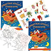 Toyday Traditional & Classic Toys 145mm x 105mm Christmas Activity Sticker Book