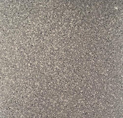 PVC Vinyl-Bodenbelag in Granit dunkel Optik | CV PVC-Belag verfügbar in der Breite 200 cm & Länge 150 cm | CV-Boden wird in benötigter Größe als Meterware geliefert | rutschhemmend & pflegeleicht -