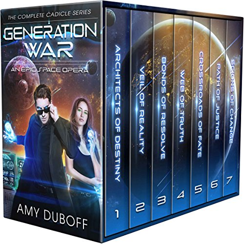 Generation War - Complete Cadicle Series Boxset: An Epic Science-Fantasy Space Opera