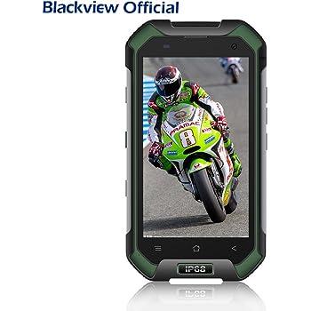 Blackview BV6000 4.7 pollici Rugged Smartphone ip68 antiurto/resistente/impermeabile Cellulari con Dual SIM 4G LTE, 3GB RAM+32GB ROM, batteria 4500mAh, fotocamera 13MP+5MP, GPS/NFC/Fingerprint, Verde