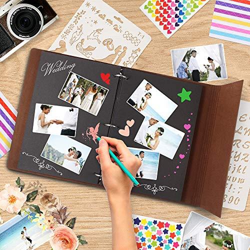 Buch Geschenk Weihnachten.Thxmadam Fotoalbum Zum Selbstgestalten Scrapbook Album Zum Einkleben Foto Buch Vintage Gästebuch Geschenk Für Weihnachten Hochzeit Jahrestag