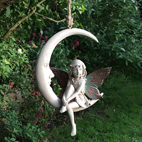 Forest Fairy Dream Catcher Rosa Kupfer geflügelten weiß Figur Skulptur Art Deco Girl Garden Home Decor Geschenk 15cm