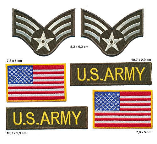 uniforme-insigne-etats-unis-drapeau-ecusson-thermocollant-patch-lot-de-6-requisite-turbo-livraison