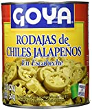 Goya Chiles Jalapeños en Rodajas para Nachos - 3 Paquetes de 2830 gr - Total: 8490 gr