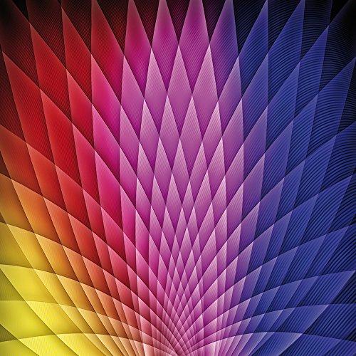 Apple iPhone 4s Case Skin Sticker aus Vinyl-Folie Aufkleber Muster Farben Illusion DesignSkins® glänzend