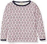 loud + proud Unisex Baby Sweatshirt Shirt mit Wolle, Rot (Tomato to), 92 (Herstellergröße: 86/92)
