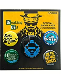 Pack De Badges / Pins Breaking Bad Flask