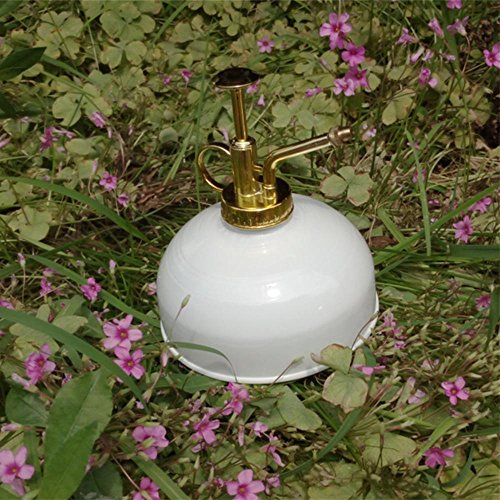 NACHEN Sprinkler Metal Galvanized Hardware Haws Mist Sprayer 300ml, white