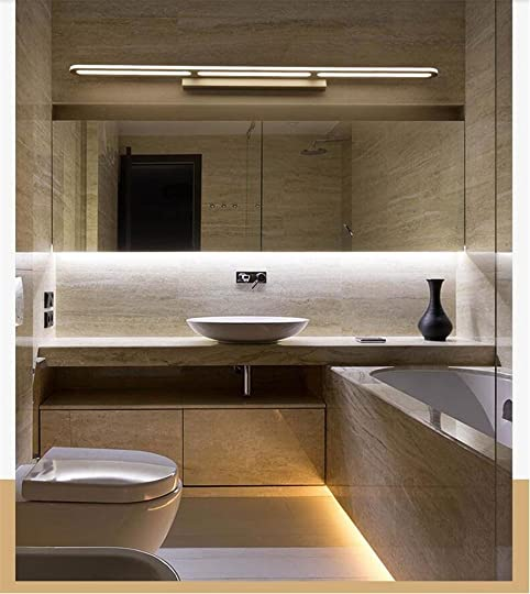 Wall Lights LED Aluminum Acrylic Waterproof Anti Fog Moisture Proof Makeup Reading Light Simple Modern Home Hotel Toilet Mirror Cabinet