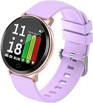 FancyWhoop Orologio Activity Fitness Tracker con Cardiofrequenzimetro da Polso Uomo Donna Impermeabile Braccialetto da Polso