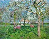Berkin Arts Emile Claus Giclée Leinwand Prints Gemälde