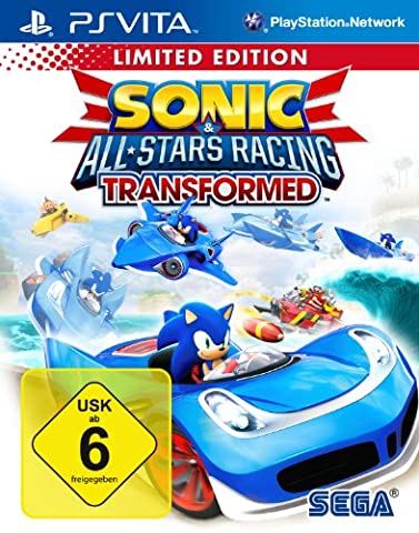 Sonic & SEGA All-Stars Racing Transformed - Limited Edition (Ps Network Online)