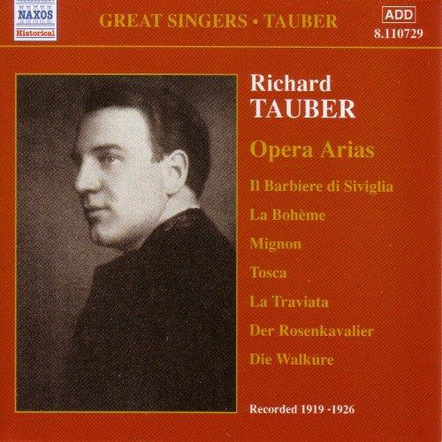Tauber, Richard: Opera Arias (...