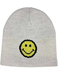 MasterDis Smiley Jacquard Knit Beanie 10553