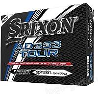 Srixon AD333 Tour Golf Balls, One Dozen (2018 Version)