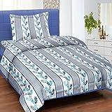 Cortina Cotton Single Bedsheet with 1 Pi...
