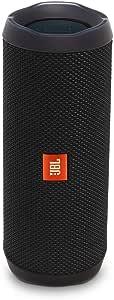 JBL Flip 4 Bluetooth Box - Wasserdichter, tragbarer Lautsprecher mit Freisprechfunktion und Alexa-Integration - Bis zu 12 Stunden Wireless Streaming mit nur einer Akku-Ladung Schwarz