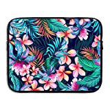 ASKSWF Computertasche Business Briefcase Sleeve Plants Pattern Laptop Sleeve Case Cover Handbag for 15 Inch MacBook Pro/MacBook Air/ASUS/Dell/Lenovo/Hp/Samsung/Sony