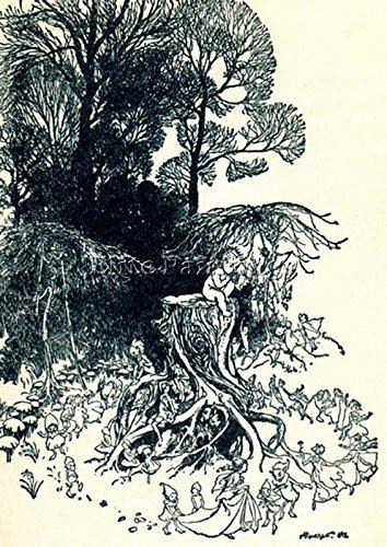 arthur-rackham-kensie-artiste-tableaux-reproduction-huile-sur-toile-peinture-100x70cm-haute-qualite
